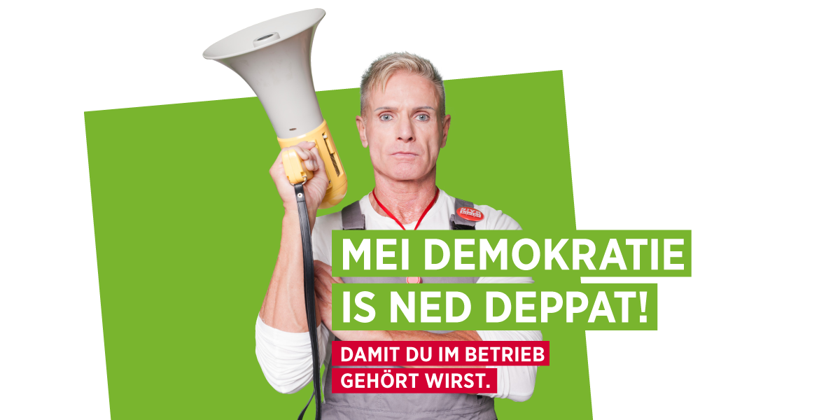 AK Wahl 2019 - Mei Demokratie is net deppat!