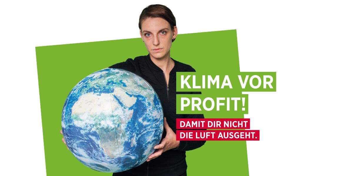 AK Wahl 2019 - Klima vor Profit!